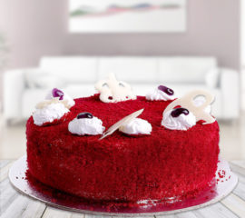Red velvet cake for you