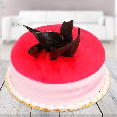 Strawberry cake for you