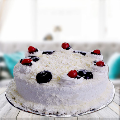 White forest cake 4 u